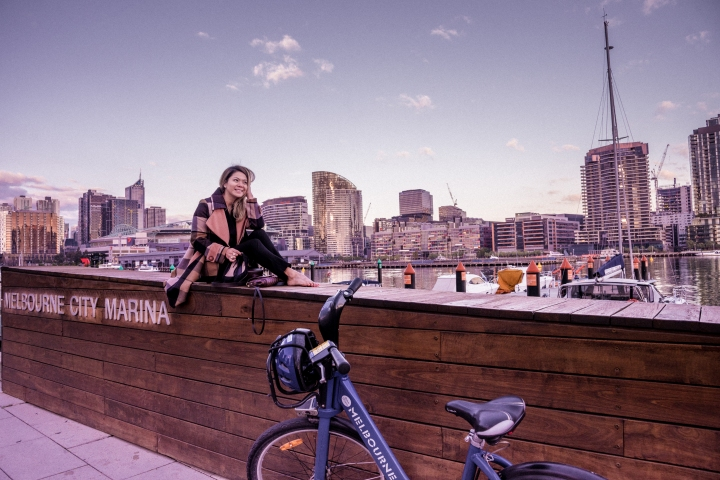 Melbourne: Biking Around Docklands